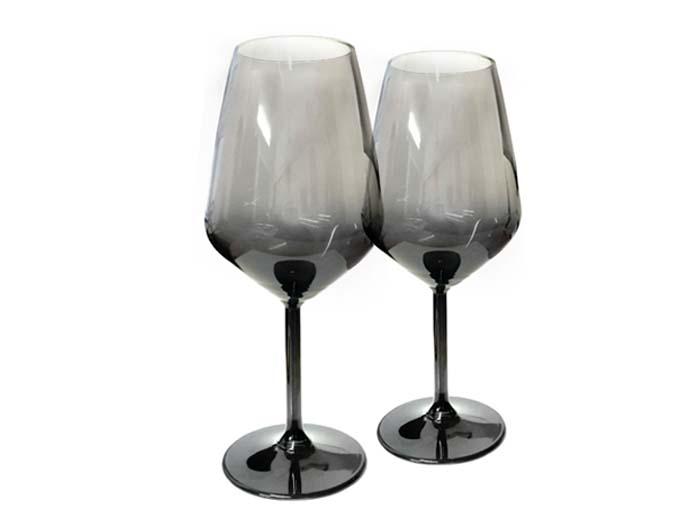 стъкло, чаши, двойка, сватба, подарък, вино